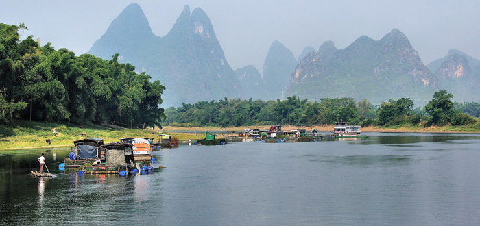 Ден 1. Река Ли, Яншуо