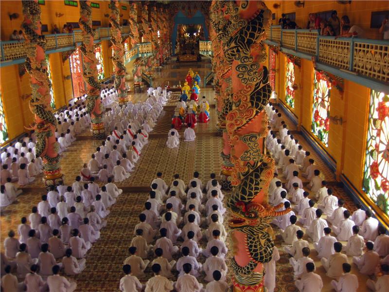 Ден 7:    Сайгон-Тай Нин