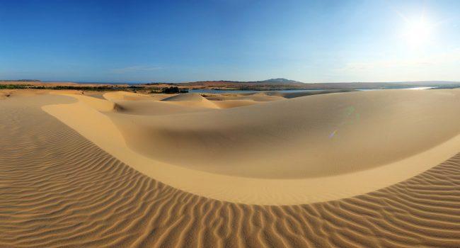 Пясъчните плажове на MUI Ne