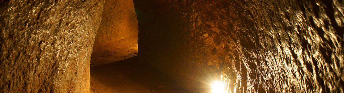 Cu Chi и тунелите