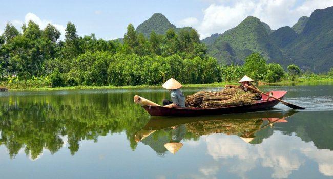 Река Меконг (Меконг Делта)